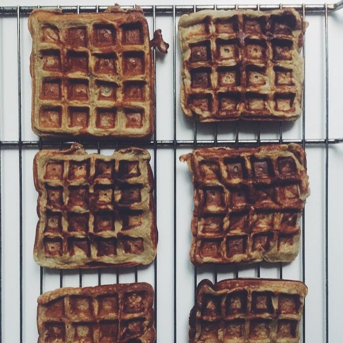waffles tapioca