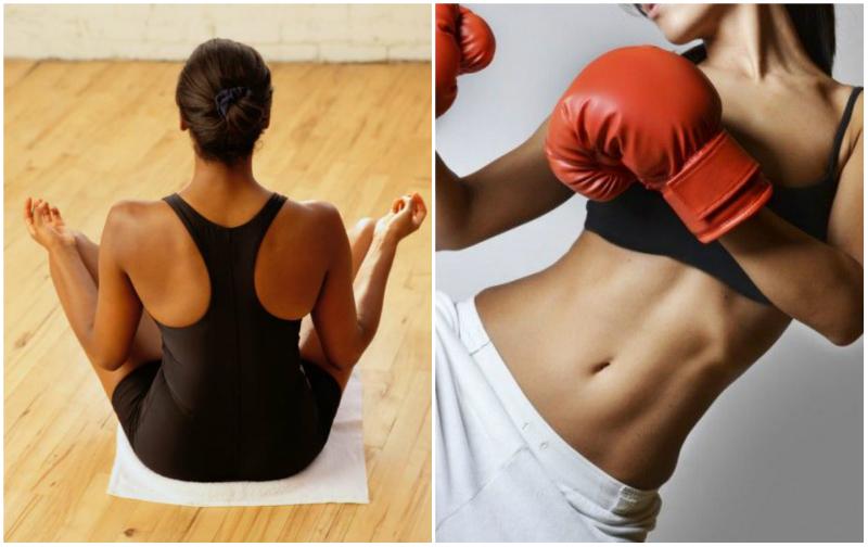Yoga vs Kick Boxing