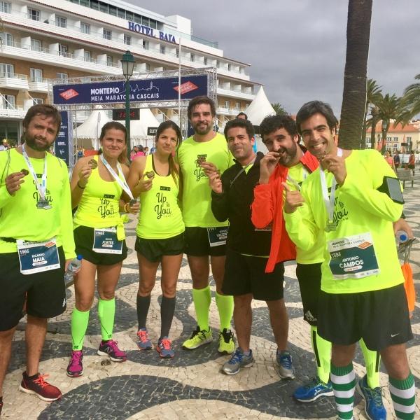 Primeira meia maratona do Team e com objetivo social