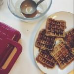 Waffles de Tapioca sem Açúcar