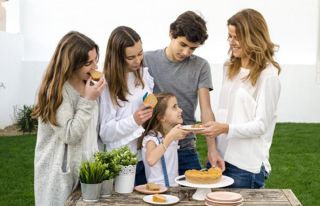 crianças saudáveis, famílias felizes
